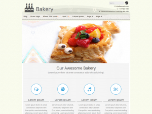 Bakery -  WordPress Theme for Bakeries, Food Bloggers, Coffee Shops and Cupcakes