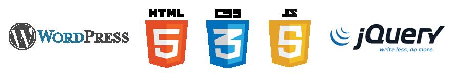 HTML5 / CSS3 / JavaScript / jQuery / WordPress