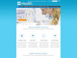 Health - Medical & Health Clinic WordPress Theme for Medicine