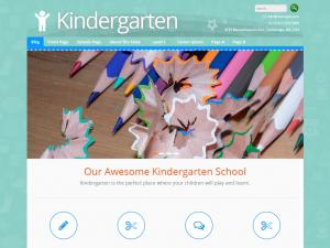 Kindergarten - ChildCare, Preschool, Children school or Kids WordPress Theme