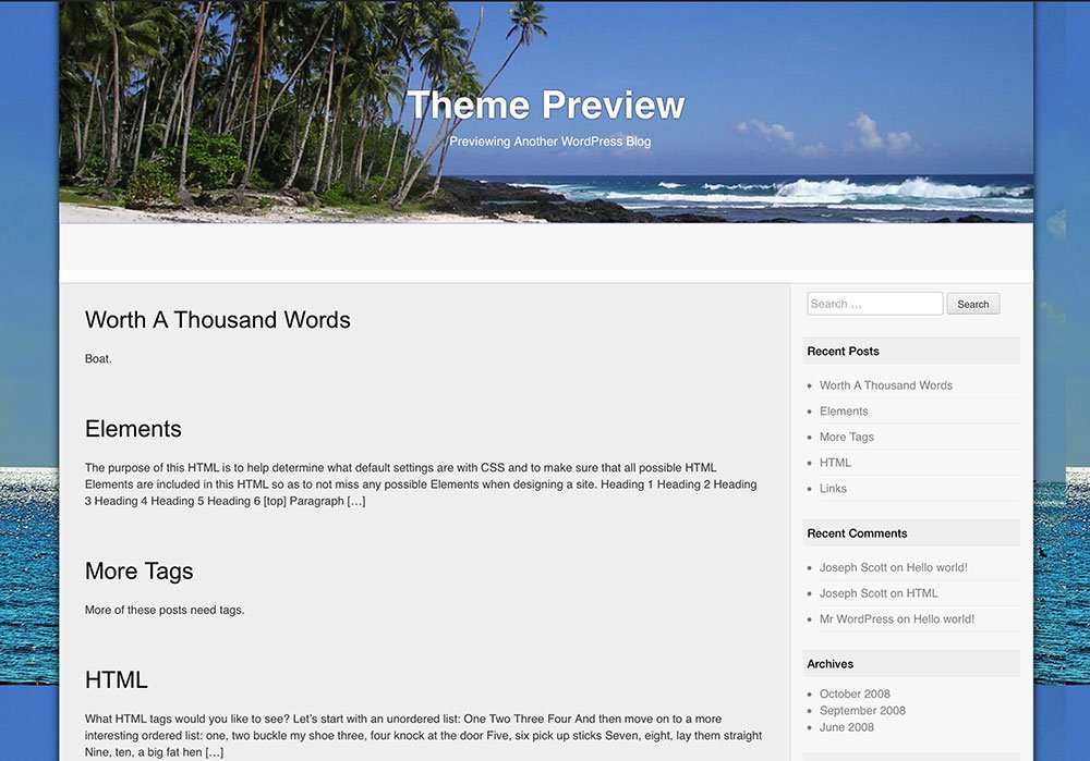 Travel Guide wordpress template its a free to use and download